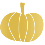 gold pumpkin icon